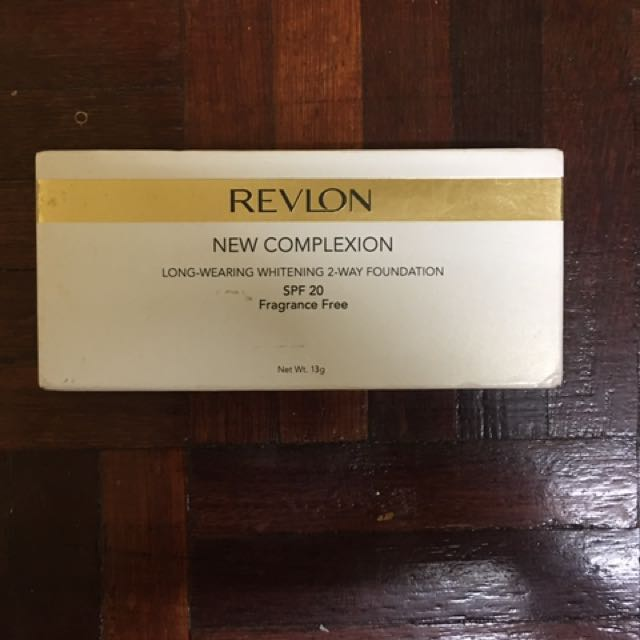 REVLON NEW COMPLEXION TWO WAY FOUNDATION. Source · [NEW] REVLON NEW COMPLEXION, Health & Beauty, Makeup on Carousell