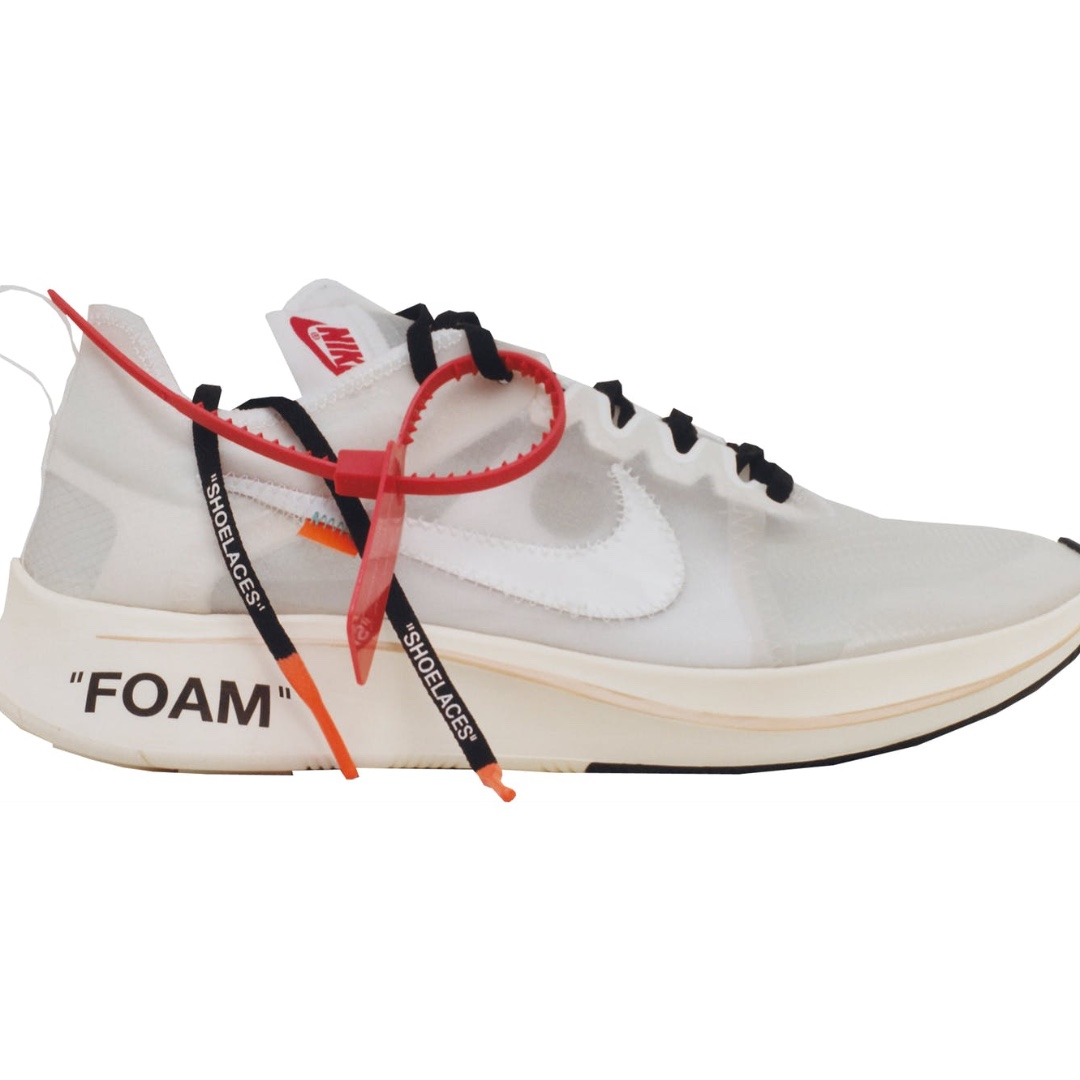 Nike off white zoom fly 10 11 authentic, Men's Fashion, Footwear on  Carousell