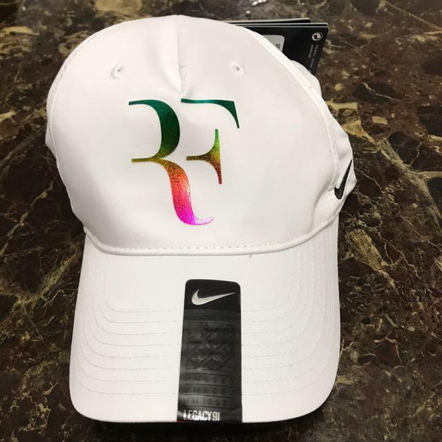 Nike Roger Federer Cap ( Iridescent ), Sports, Sports Apparel on ...