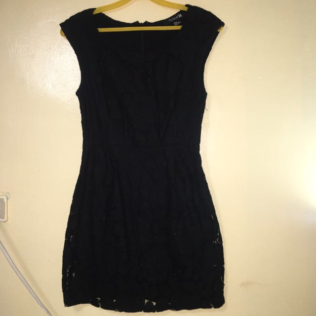 Office Black Dress Medium