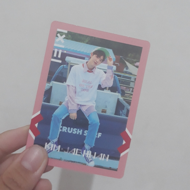 Official Kim Jaehwan pc Wanna One To Be One album