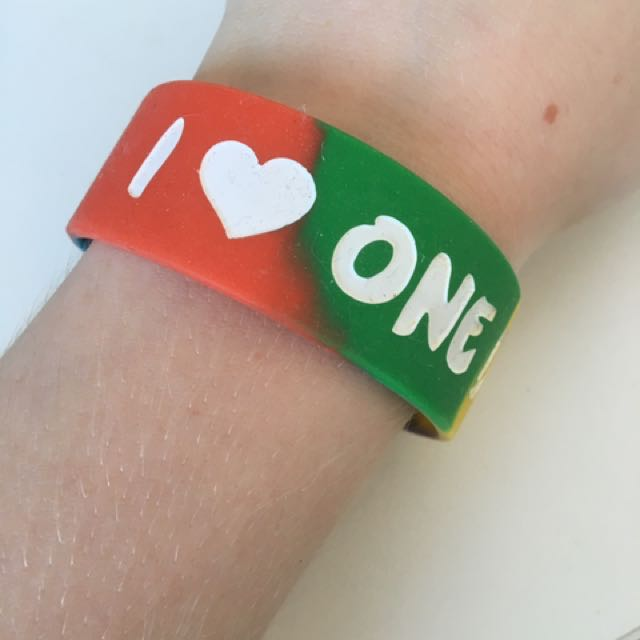 One Direction Wrist Band