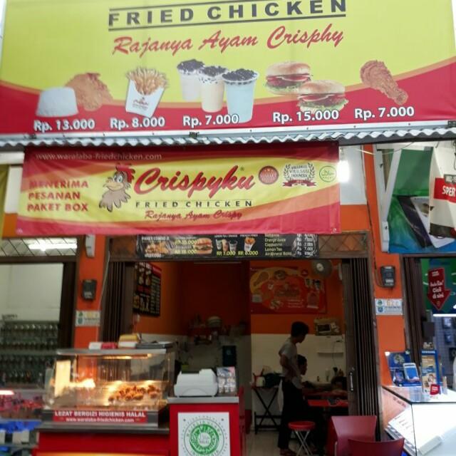 Over Franchise Ayam Krispyku