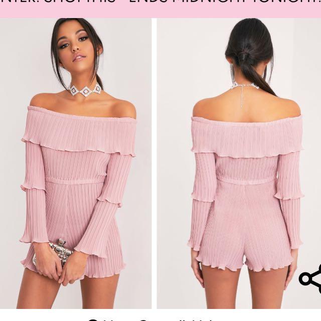 Pink playsuit/jumpsuit