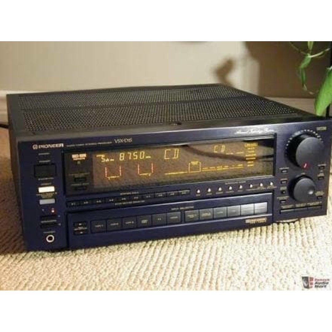 Pioneer VSX D1S 6 Channel 130 Watt Receiver Home audio amplifier SQ