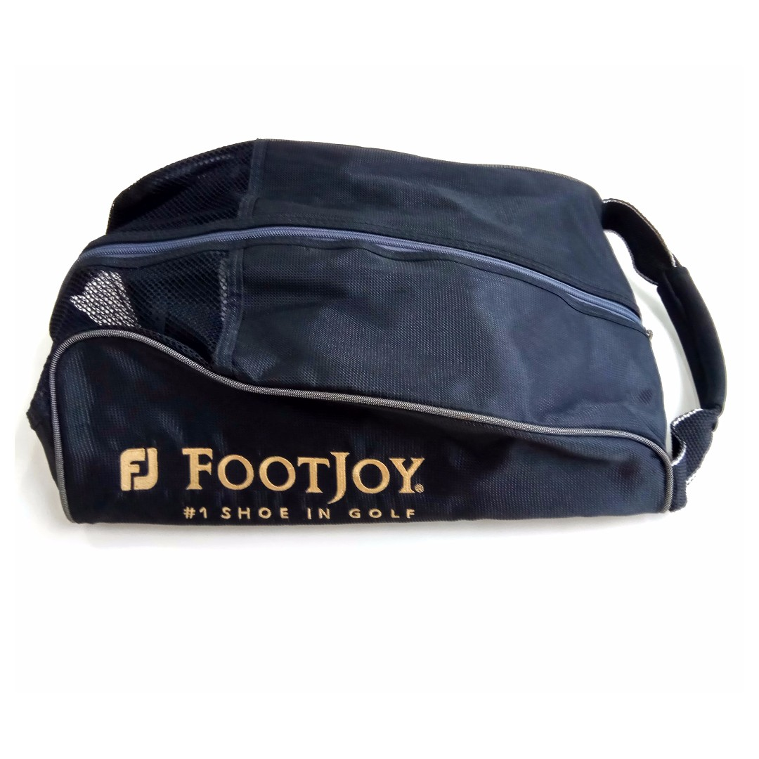 (PL) Footjoy Golf Nylon Shoe Bag