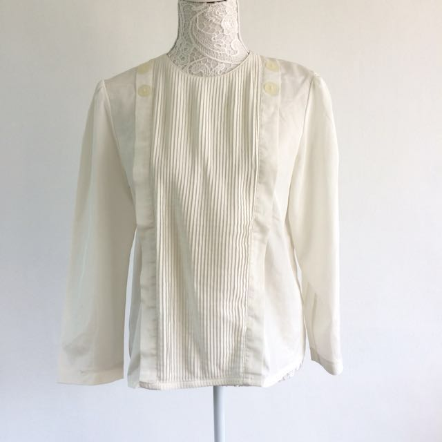 Pleated Style Blouse