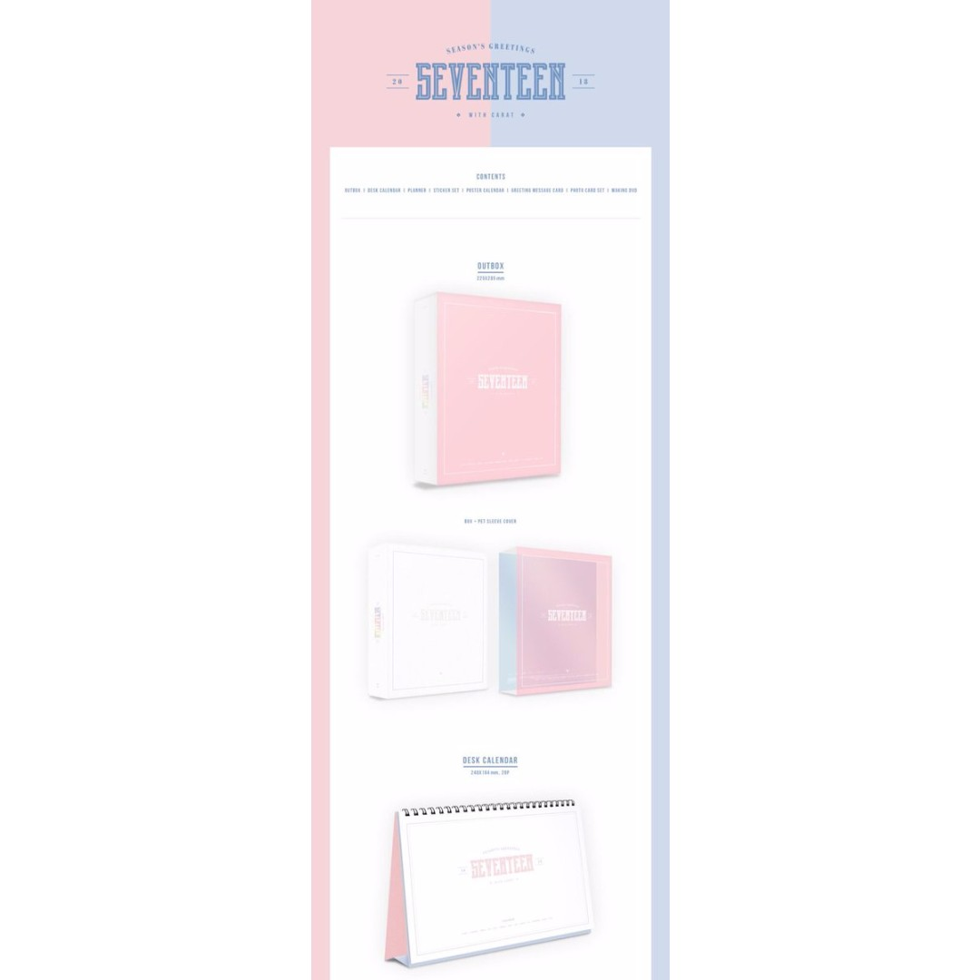 Closed ems po seventeen 2018 seasons greetings with carat k photo photo photo photo photo kristyandbryce Gallery
