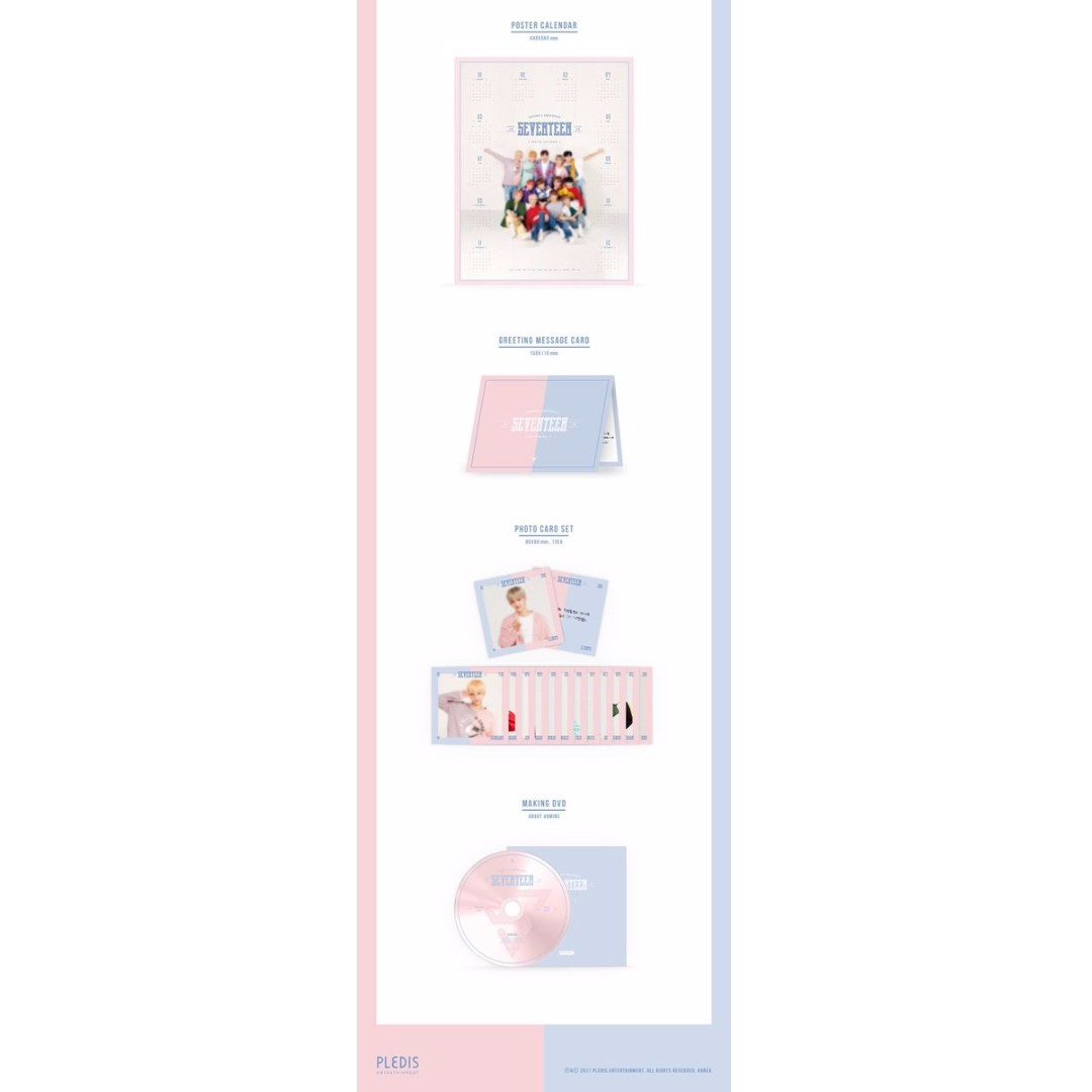 Closed Ems Po Seventeen 2018 Seasons Greetings With Carat