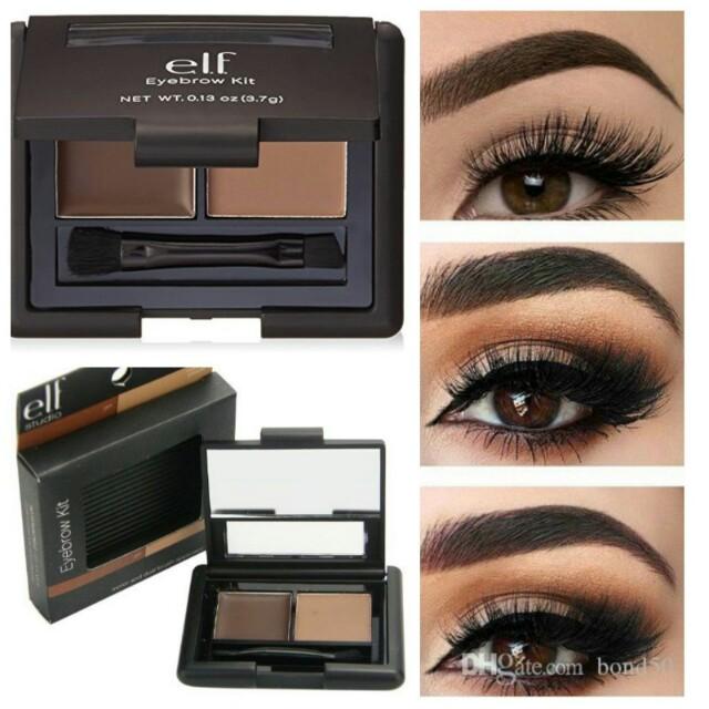 ceb4eef0ddb 🆓POSLAJU Elf eyebrow kit (medium), Health & Beauty, Makeup on Carousell