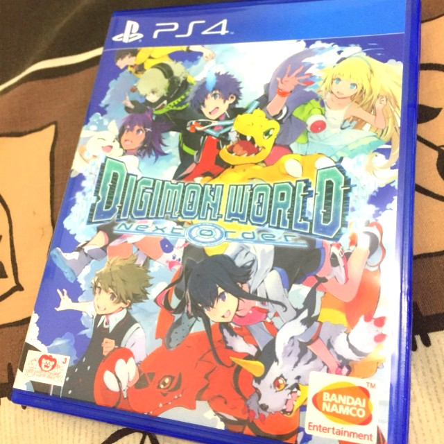 PS4 Game - Digimon : Next Order