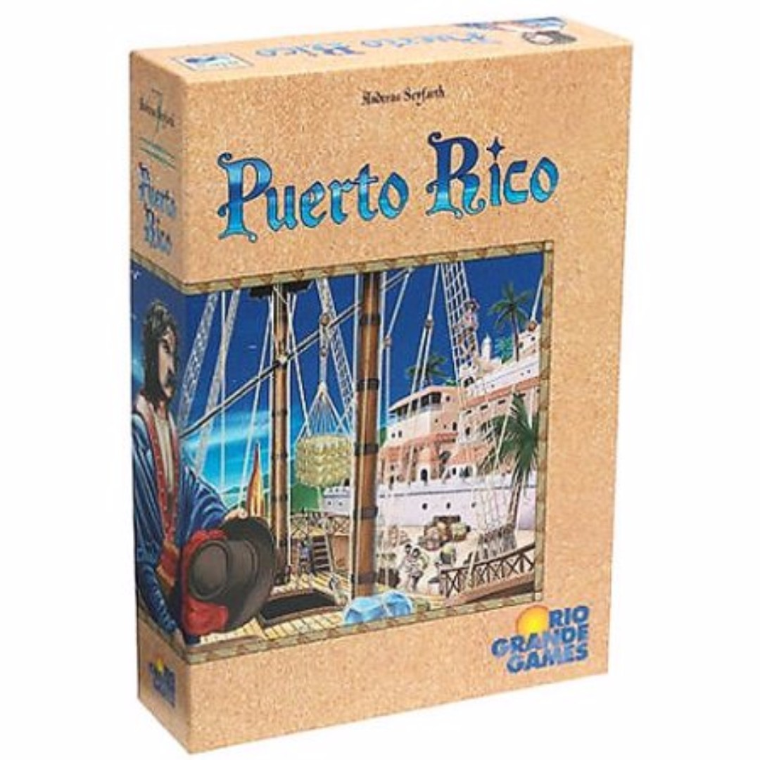 Authentic Puerto Rico Board game