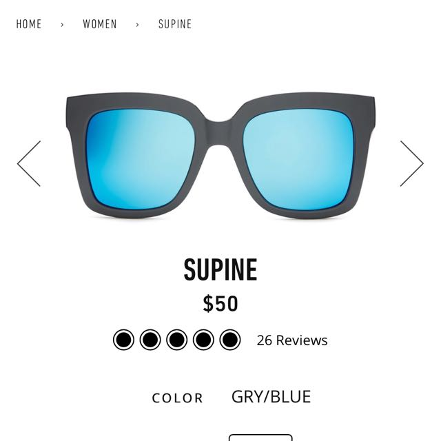 QUAY Sunglasses - SUPINE