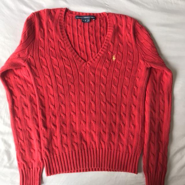 Ralph Lauren Sport knitted sweater