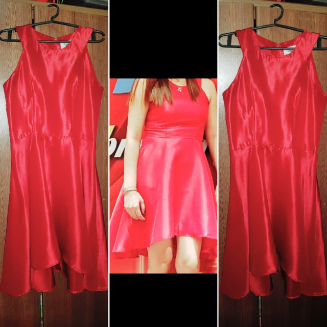 RED Cocktail Dress by Chill