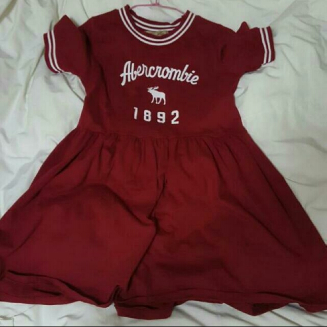 red maroon ambercrombie 1892 dress