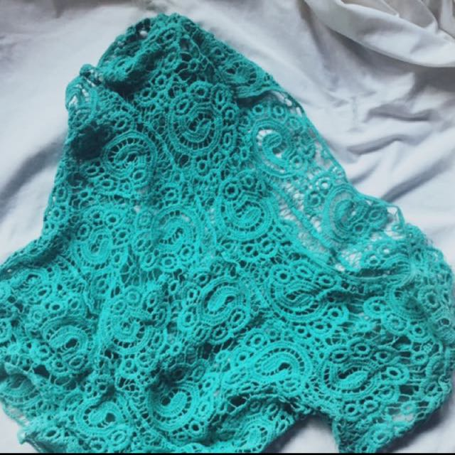 REPRICED Crochet Cover Up