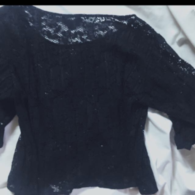 REPRICED Lace Top