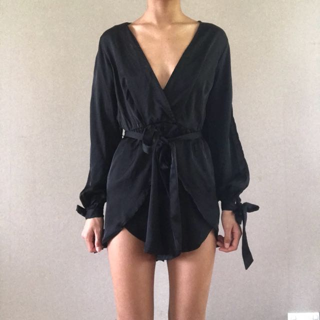 'Reverse' playsuit from Princess Polly
