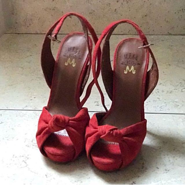 SALE MissKG Original Shoes High Heels Sepatu Size 36