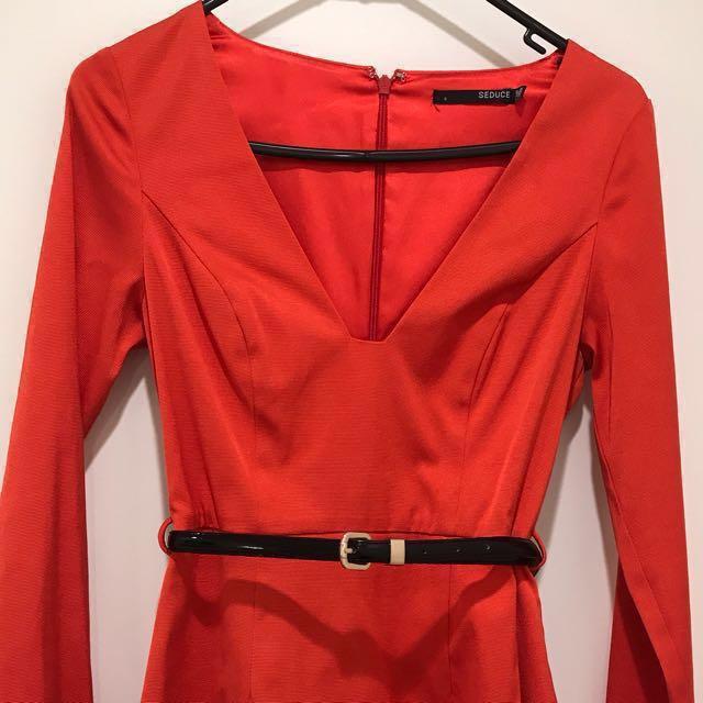Seduce Red Dress
