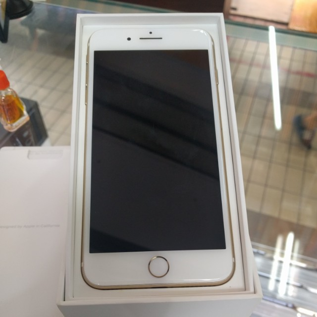 Selling Ip7 128gb Gold Used Handphone Mobile Phones Tablets