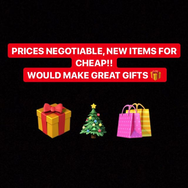 Selling new items, they are great Christmas gifts