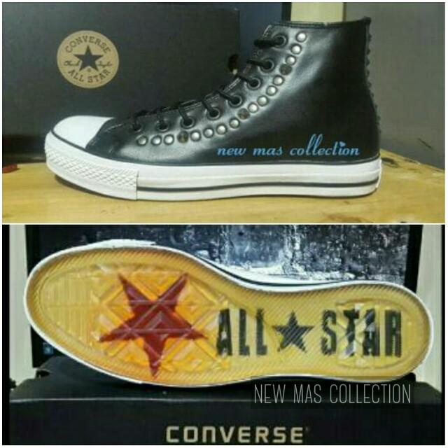 "Sepatu Converse All Star CT High Black ""John Varvatos"""