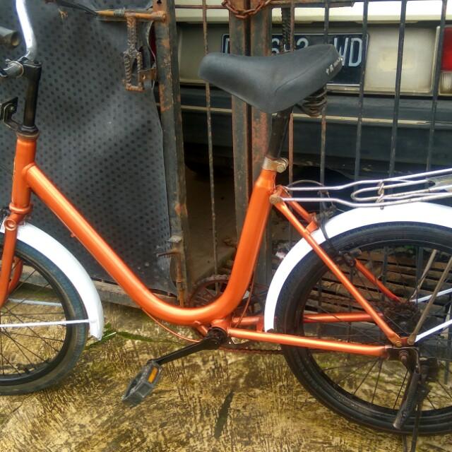 Sepeda Mini Antik Merk Phoenix Uk 20inc Olah Raga Sepeda Di Carousell