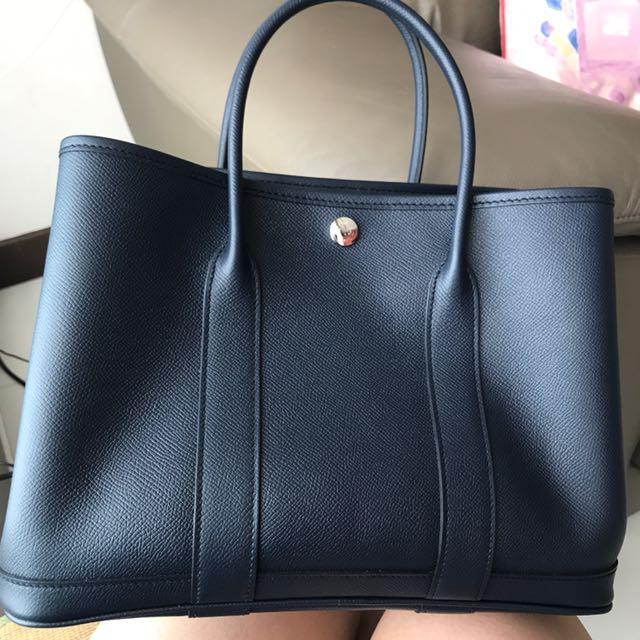 Sg Receipt Hermes Garden Party 30 Luxury Bags Wallets On