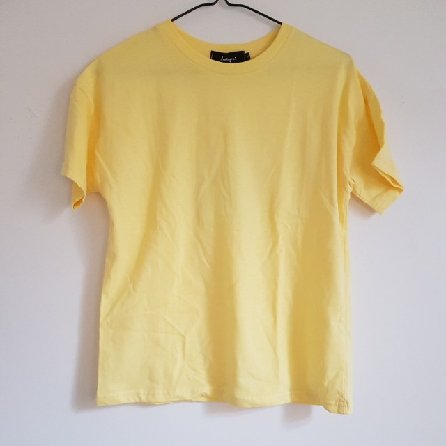 short sleeve yellow shirt BNWT