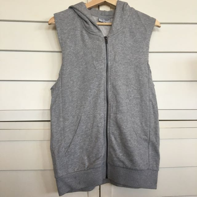 Silent theory grey gym hoodie