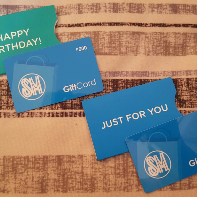 SM Gift Cards
