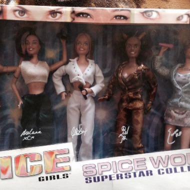 Spice Girls Dolls Set