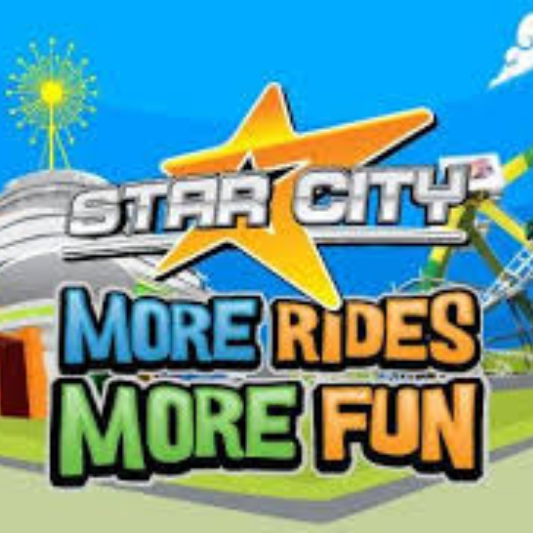 STAR CITY TICKETS (Ride you can)