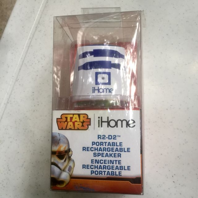 Star wars iHome portable rechargeable speaker