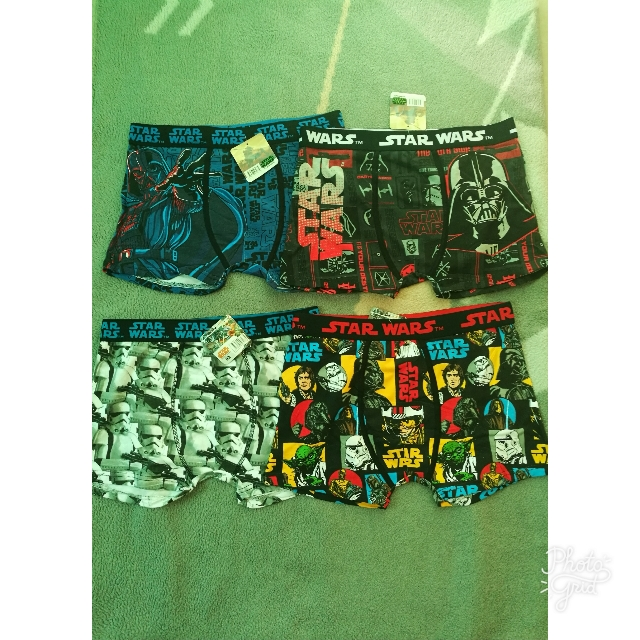 Starwars Boxer Brief Large
