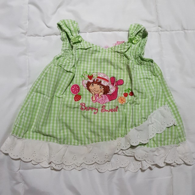Strawberry Shortcake Blouse - 4T