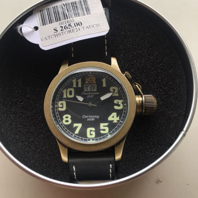 Tauchmeister Germany Man Watch, Men's Fashion, Watches on ...