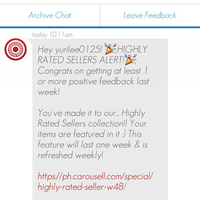 Thanks Carousell!!