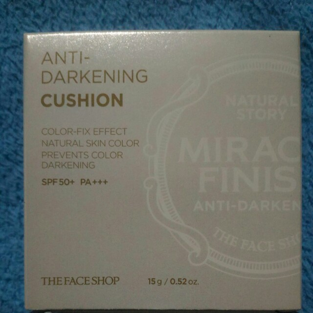The Face Shop Anti Darkening Cushion