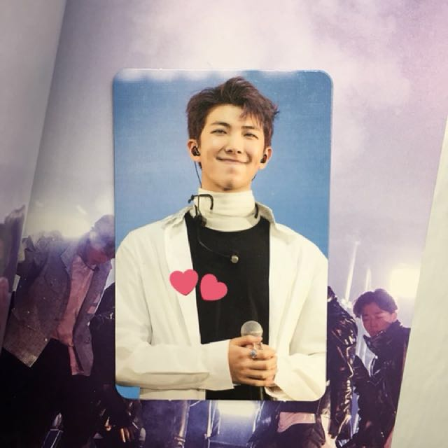 The Wings Tour 2017 BTS Live Trilogy Episode III In Seoul RM Photocard 