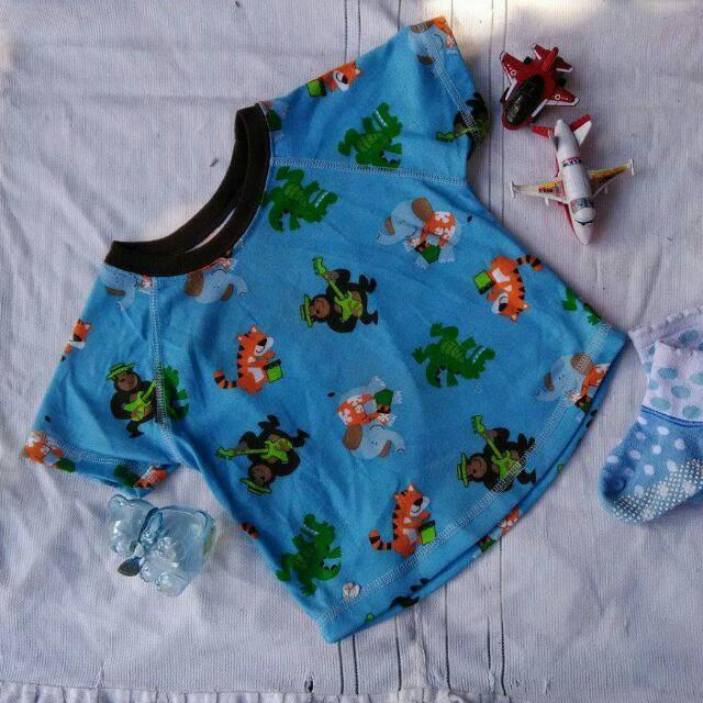 REPRICED! Toddler Blue Shirt For Boys