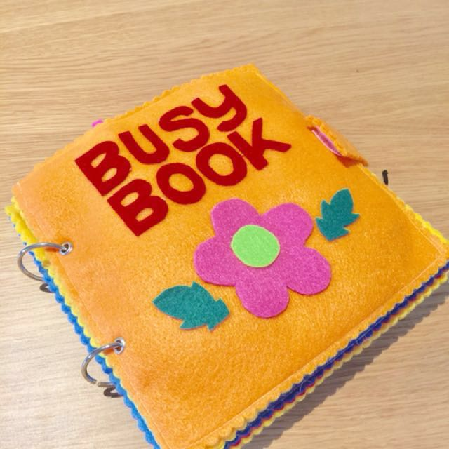 Toddler Busy / Activity Book - Handmade NEW