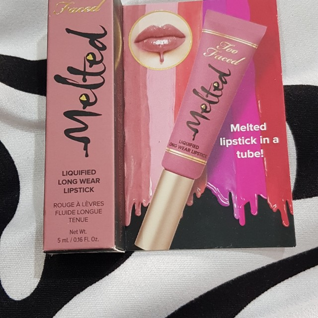 Too faced melted lipstick - chihuahua