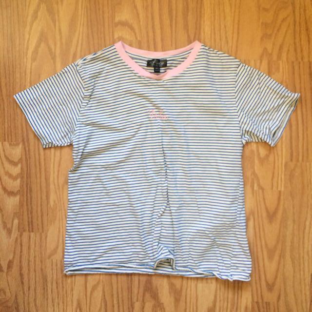 Topshop striped t-shirt
