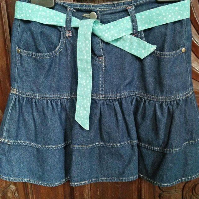 Urb denim skirt