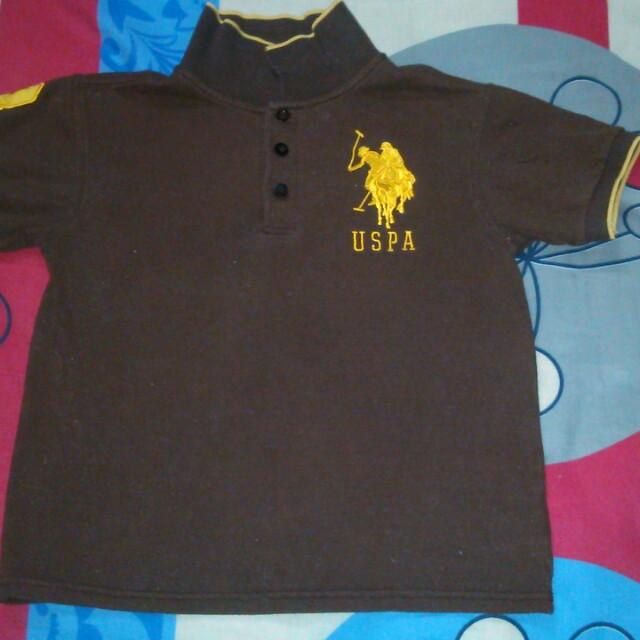 US Polo Assn Collared T-shirt