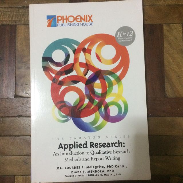 USED Applied Research Book for Grade 12