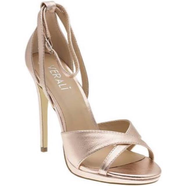 VERALI ROSE GOLD HEELS